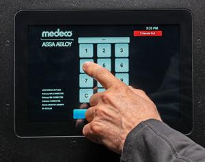 Medeco Intelligent Key Cabinet