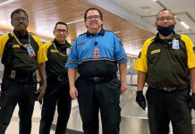 Prosegur security personnel at LAX