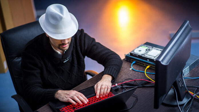 White hat ethical hacker