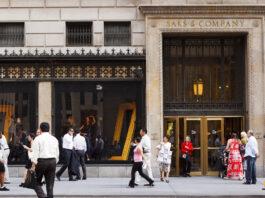 Saks Fifth Avenue NYC
